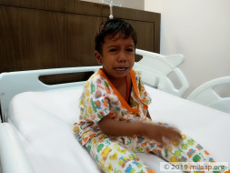 Help 3-year-old Jeeva fight a severe heart disease