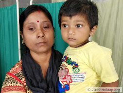 Baby Avirup needs a heart surgery his parents cannot afford