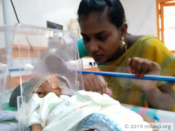 This Newborn Baby Has Abnormal Flow Of Blood, Needs Urgent Surgery