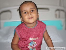 Help 4-year-old Adithya who fights for his life against blood cancer