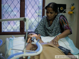 Help 17-year-old Sanjay who is completely paralyzed and in the ICU