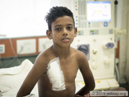 Help Tarvez who needs a kidney transplant