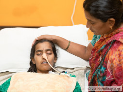 Help Drowpathi walk again after a lorry accident