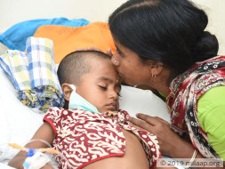 Help 4-year-old Sudip fight cancer