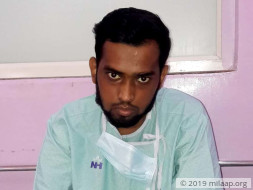 Help 20-year-old Jahid fight a severe blood disorder