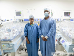 Swathi's new-born twins need urgent treatment to stay alive