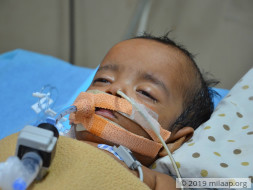 1-year old Arshiya needs your support to fight disease