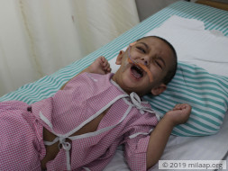 2-Year-Old's Fatal Condition Has Left Him Blind And Motionless