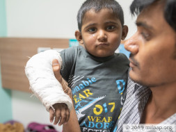 1-Year-Old Cries In Unbearable Pain All Day Due To His Failing Liver