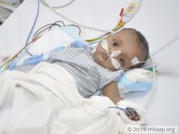 Help Baby Maheen Arfat to fight disease