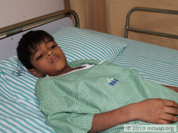Support Yusuf to undergo his treatment