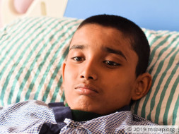 This Young Boy Is Now Bedridden Because Of Cancer, Needs Urgent Help