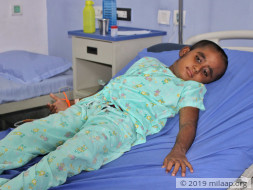 Vishnu needs your help to fight disease