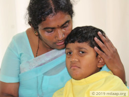 Monish needs your help to fight disease