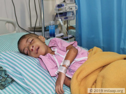 This Baby Girl Needs Help To Fight Aggressive Cancerous Tumour
