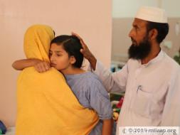 Disabled Madrassa Teacher Struggles To Save Daughter From Nerve Tumor