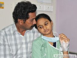 Harshitha needs your help to undergo her treatment