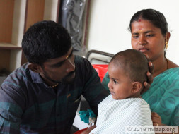 Sajithwaran needs your help to fight cardiac disease