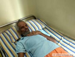 Jayananda needs your help to undergo his treatment