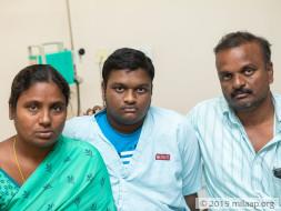 Help Rajesh to undergo his treatment