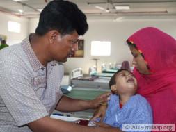 Help Nur Mohammed  to undergo his treatment