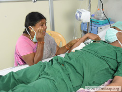 Parthiban needs your help to fight disease
