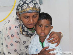 Afan needs your help to undergo his treatment