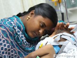 Baby Abhishek needs your help to survive