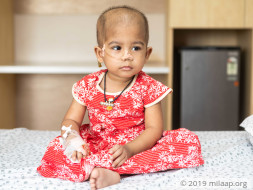 Sheema needs your help to undergo her treatment