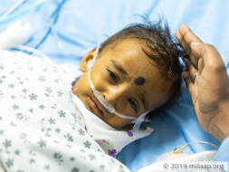 Thanusree needs an urgent liver transplant to survive.