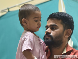 Help Shree Navnath Recover From ASD Patch Suture Line Dehiscence