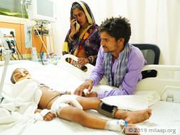 Rahul needs your help to undergo his treatmnet