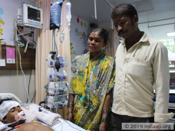 Girl Slipped And Fell From The Terrace, She Won't Live Without Help