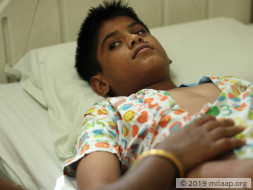 Help Rithik Undergo Pulmonary Valve Implantation