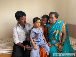 Manvi Ghadi needs your help to undergo bone marrow transplant