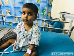 Help Little Anjali Fight Congenital Heart Disease