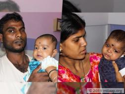 Help Baby Bandhan Mal Fight Trileteral Retinoblastoma
