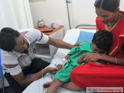 Help Gangadhar Recover From Thalassemia