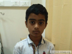 Please come forward and help Master Mohit for his treatment