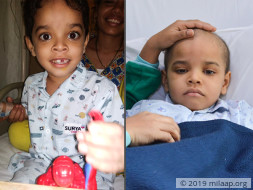 At Just 6 This Boy Is In The Hospital Battling Cancer And He's Failing