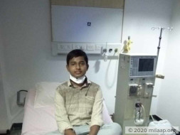 Sharath needs your help to fight kidney disease
