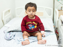 Parents Force-feed Son Every 3 Hours To Keep Him Alive