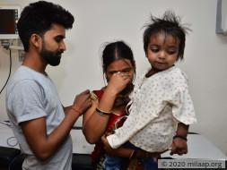 Baby Mahi needs your help to fight cardiac disease