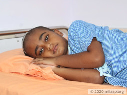9-Year-Old Is Unable To Even Eat Because Of A Painful Brain Tumour