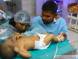 Help Vidya's Baby Recover From Acute Pneumonia