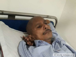 Amarnath has lung cancer and needs your support to survive.