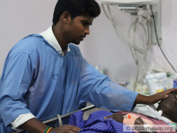 Help Venkatesan Recover From A Road Traffic Accident