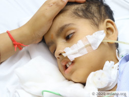My son is in the ICU battling for his life