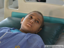 Sunitha has cancer and is battling for her life