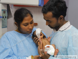 Baby of Sonia is in Life Threatening condition in ICU and needs help